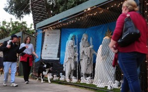 The Santa Monica Nativity Scene from Travels in Trasmedia