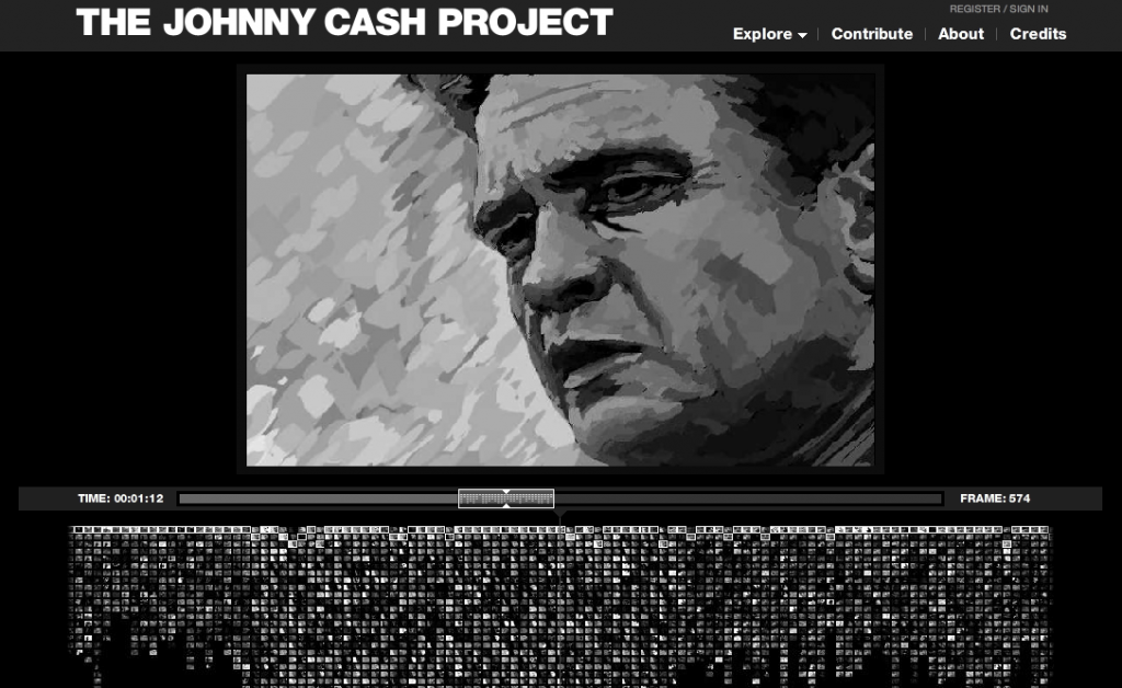 The Johnny Cash Project in Travels in Transmedia